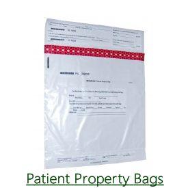 Patient Property Bags
